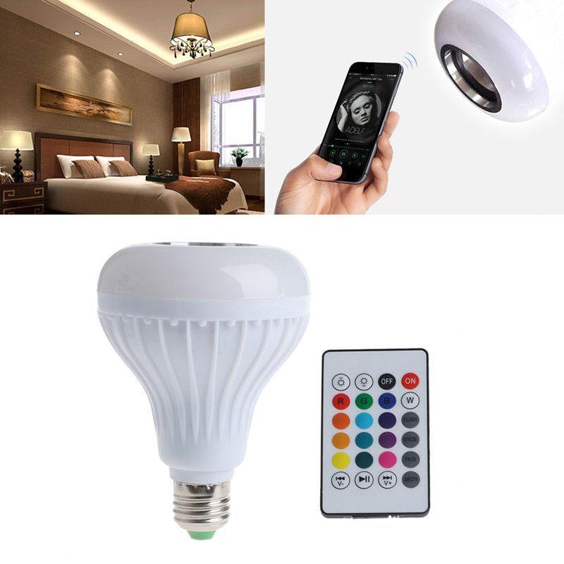 Buy Cheapest Wireless Bluetooth Light Bulb Speaker   At Buylor.com