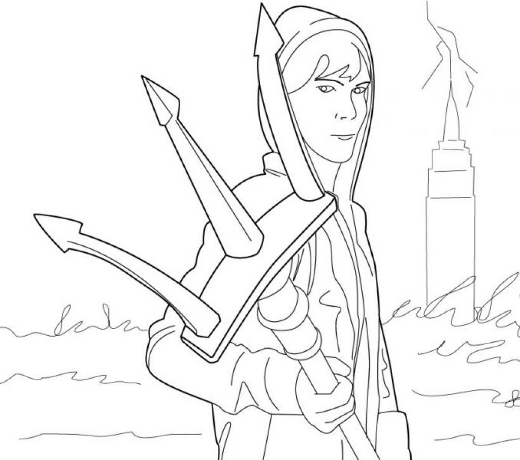 Lightning Thief Coloring Pages