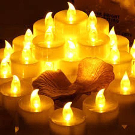 Led Electronic Candles Battery Tea Lights I œflameless Led Candles