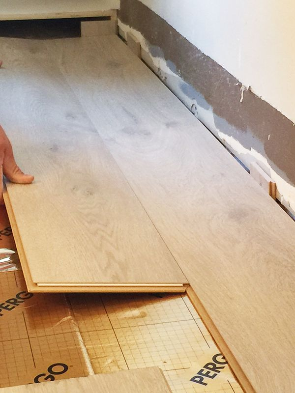 how to install pergo laminate flooring in kitchen