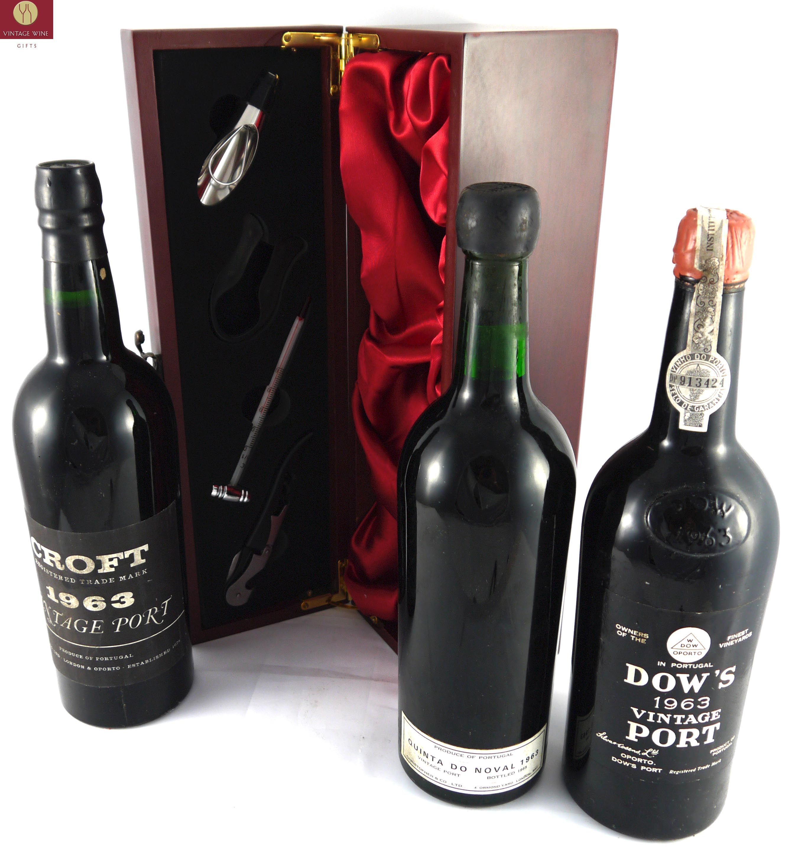 50th Anniversary Or Birthday Vintage Port Gifts From Dow S Croft And Quinta Do Noval 1963 Http Www Vintageport Bottles Decoration Distillation Vintage