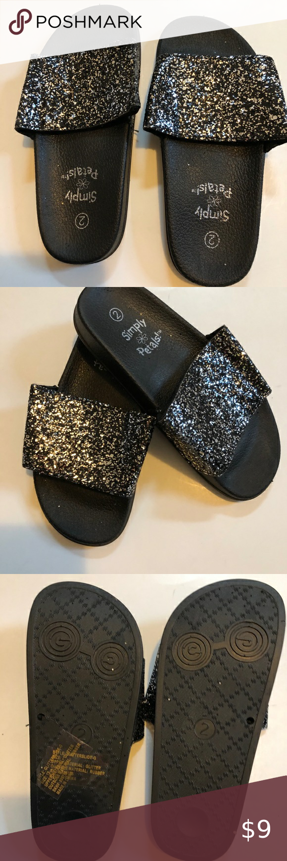 Slippers for girls, Simple shoes