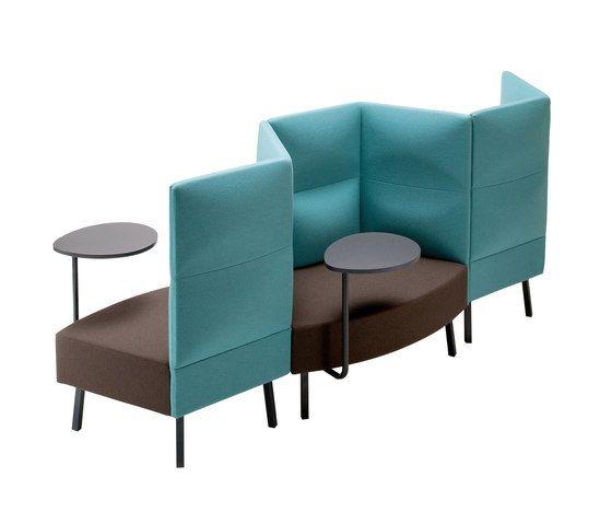 High Back Fabric Small Sofa Cumulus Collection By Sedes Regia Design Kazuko  Okamoto