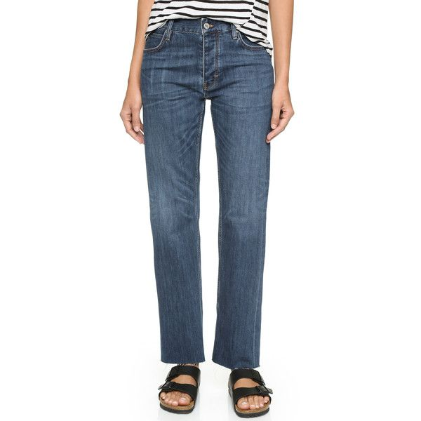 MiH The Phoebe Boyfriend Jeans ($260) ❤ liked on Polyvore