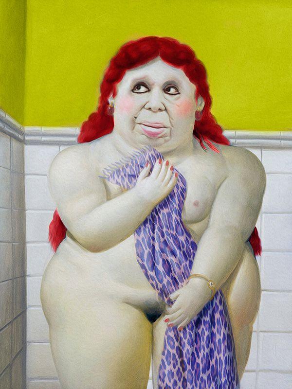 Ninguna mujer es fea por donde mea Basado en obra: Mujer del baño ...