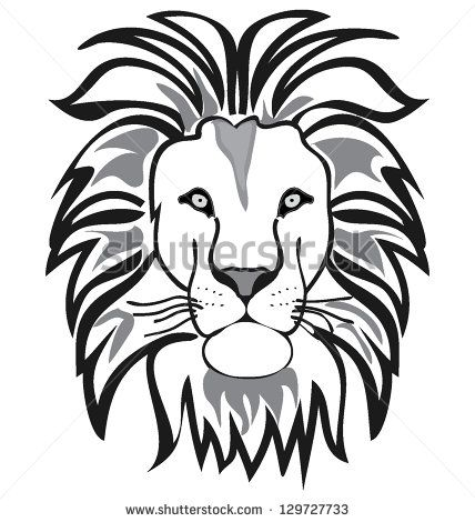 Lion Face Outline Animal Outline Lion Sketch Lion Silhouette Find this pin and more on something to draw by tammy akins. lion face outline animal outline