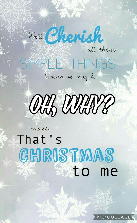 Christmas To Me Lyrics.Pin On Phone Wallpaper