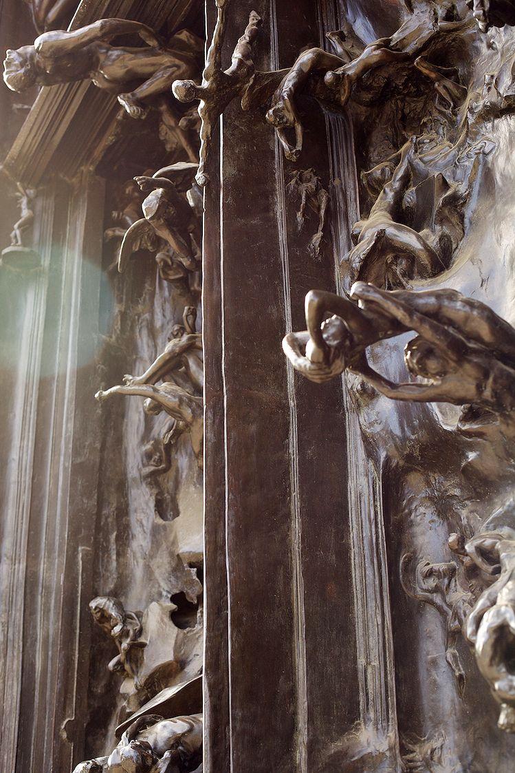 Auguste Rodin La Porte De L Enfer Escultura Escultura De Rodin