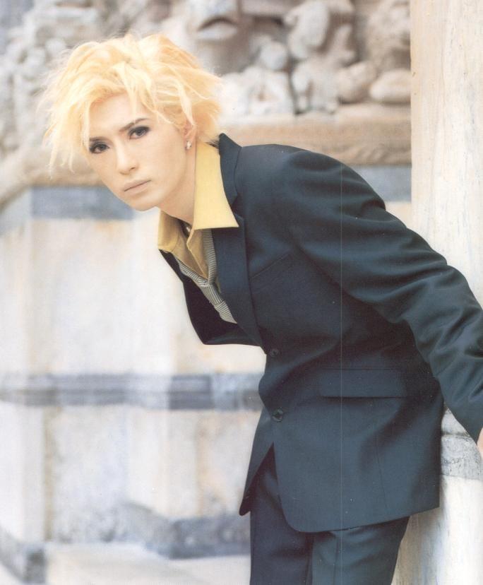 #GACKT #blonde