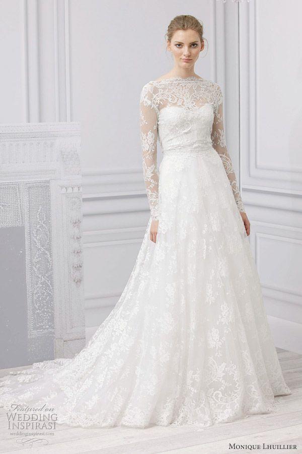 Monique Lhuillier Bridal Spring 2013 Wedding Dresses | Monique ...