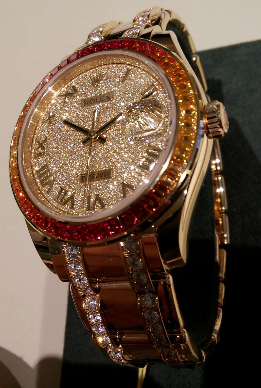 Rolex Datejust Pearlmaster 39 diamond pavé