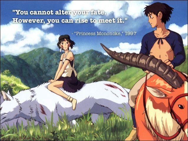 Miyazaki Quotes もののけ姫 スタジオジブリ 宮崎駿