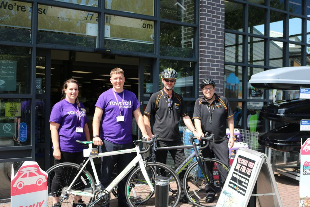 Ride For Rowcroft Cycle Challenge Partners With Halfords Cycle