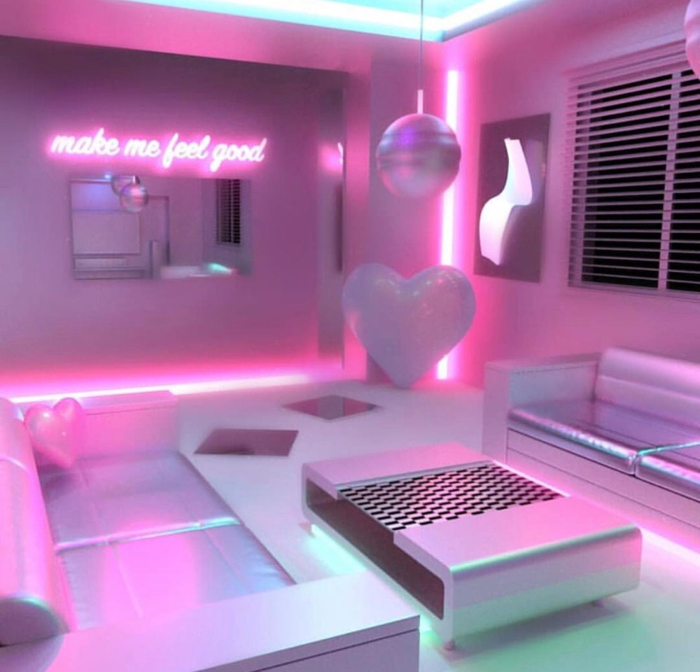 Vaporwave Room Vaporwave Vaporwave Living Room For The 80s Soul Living Room Cozy Girl Bedroom Designs Neon Room Awesome Bedrooms