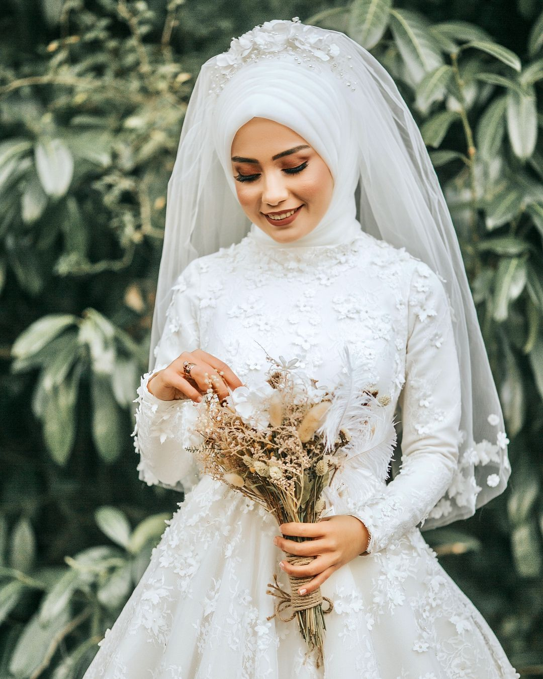 Sadelik Zarafet Muslim Wedding Dresses Fairytale Bridal Hijabi Wedding