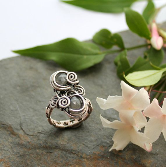 Woven Sterling Silver Wire And