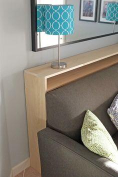 Console Table Bookshelf Tutorial Home Decor Diy Sofa