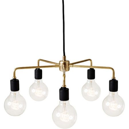 Stylist's Tip: Center this distinctive mini chandelier over your dining table for industrial appeal, then enhance the look with reclaimed wood chairs, jute p...