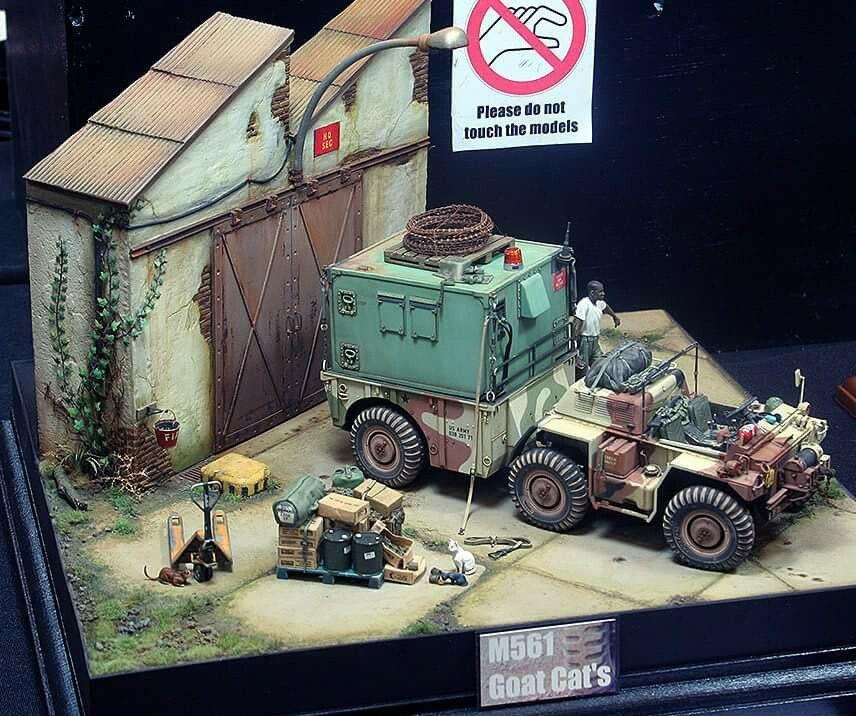 Truck model diorama  | Car & Truck Scale Models | Diorama