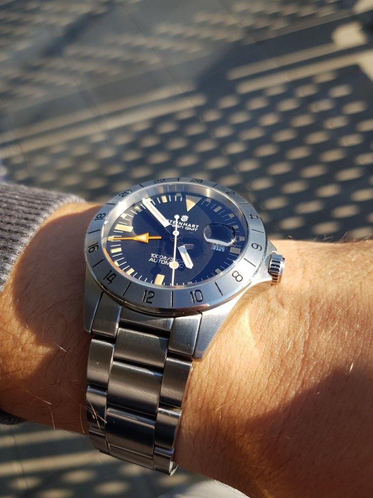 Steinhartwatches Steinhart Ocean Vintage Gmt Cyclops Cyclopslens Lens Tuning Vintage Watches Steinhart Watch Watches