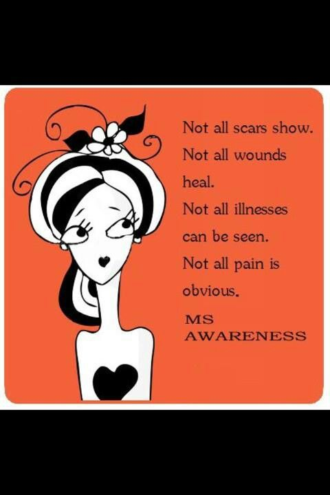 MS awareness | PCOS | Multiple sclerosis, Multiple sclerosis ...