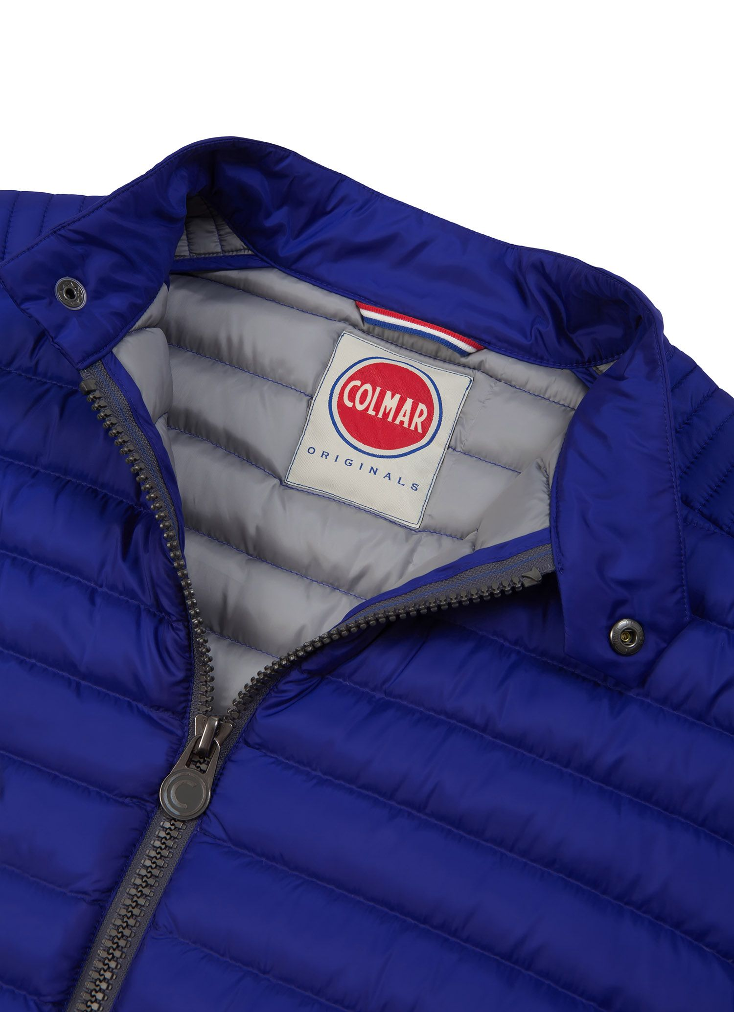 Colmar Originals men's down jacket in ultra-lightweight fabric with natural  down feather padding -