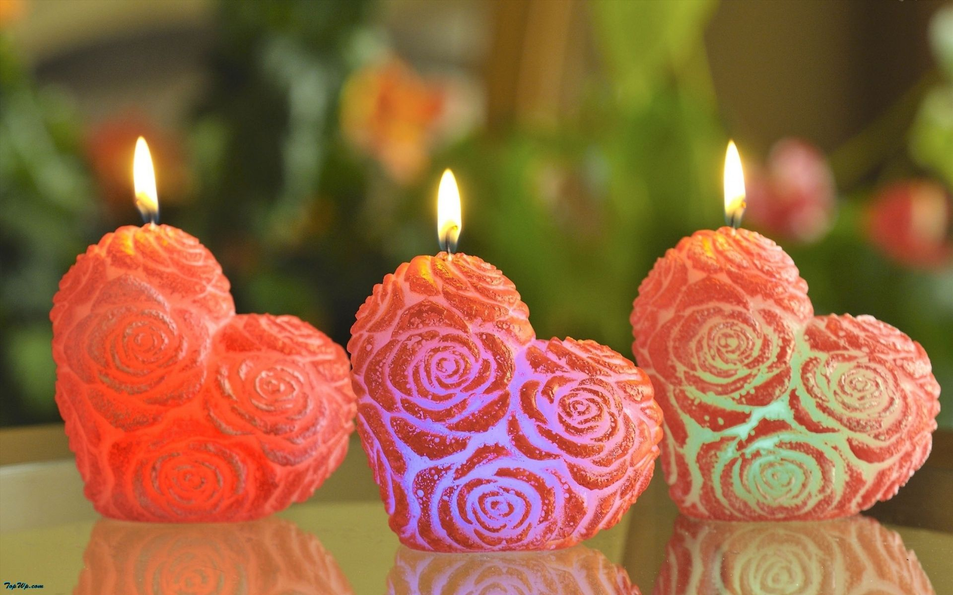 heart candles | Love HD Wallpapers | Pinterest for Heart Candle Wallpaper  269ane