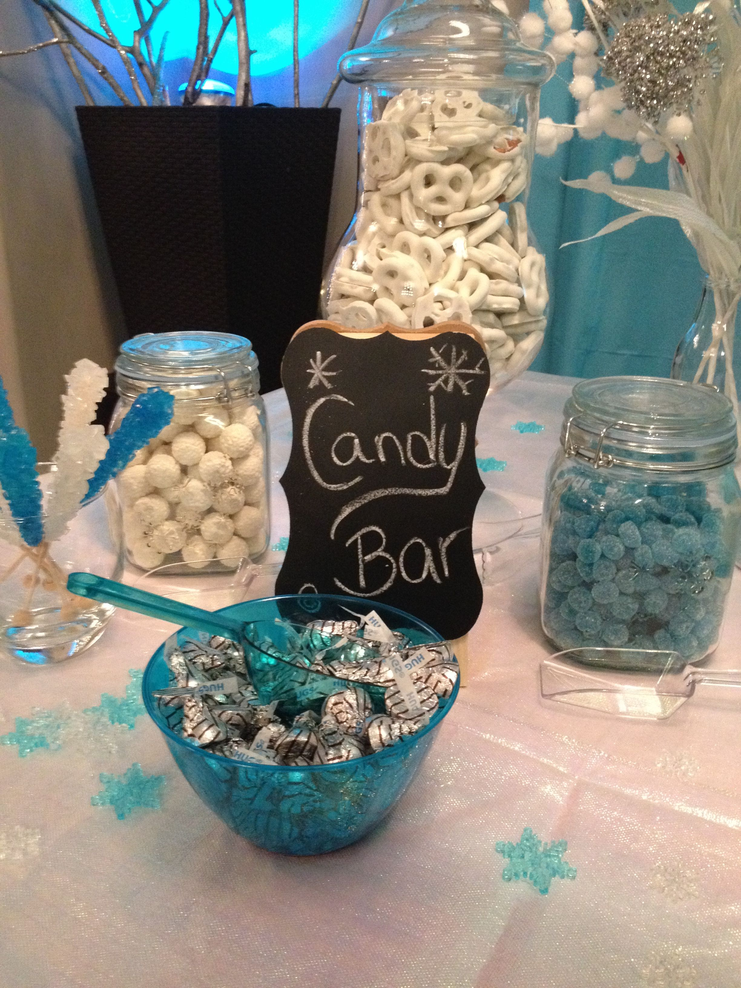 Candy Bar: I loaded up on candy from the Bulk Barn  The