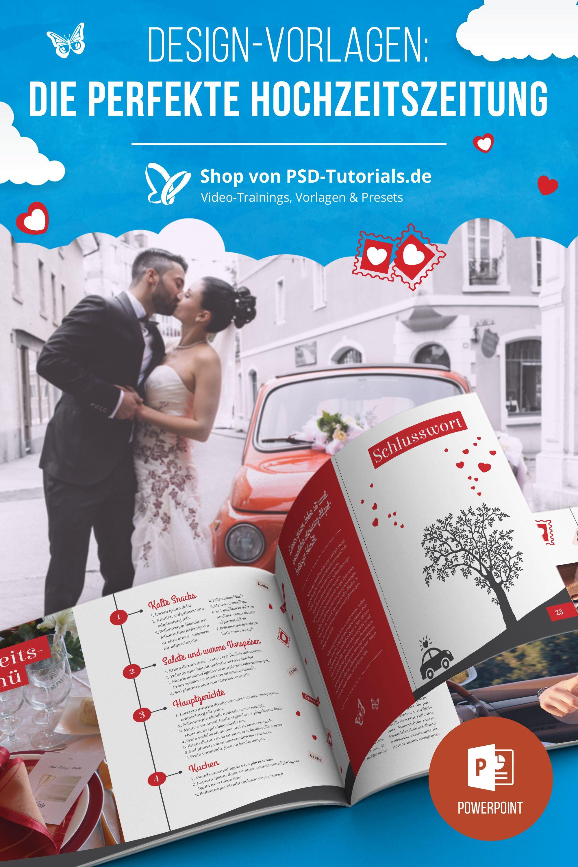 Hochzeitszeitung Vorlagen Fur Powerpoint Indesign Hochzeitszeitung Hochzeitszeitung Ideen Hochzeitsdetails