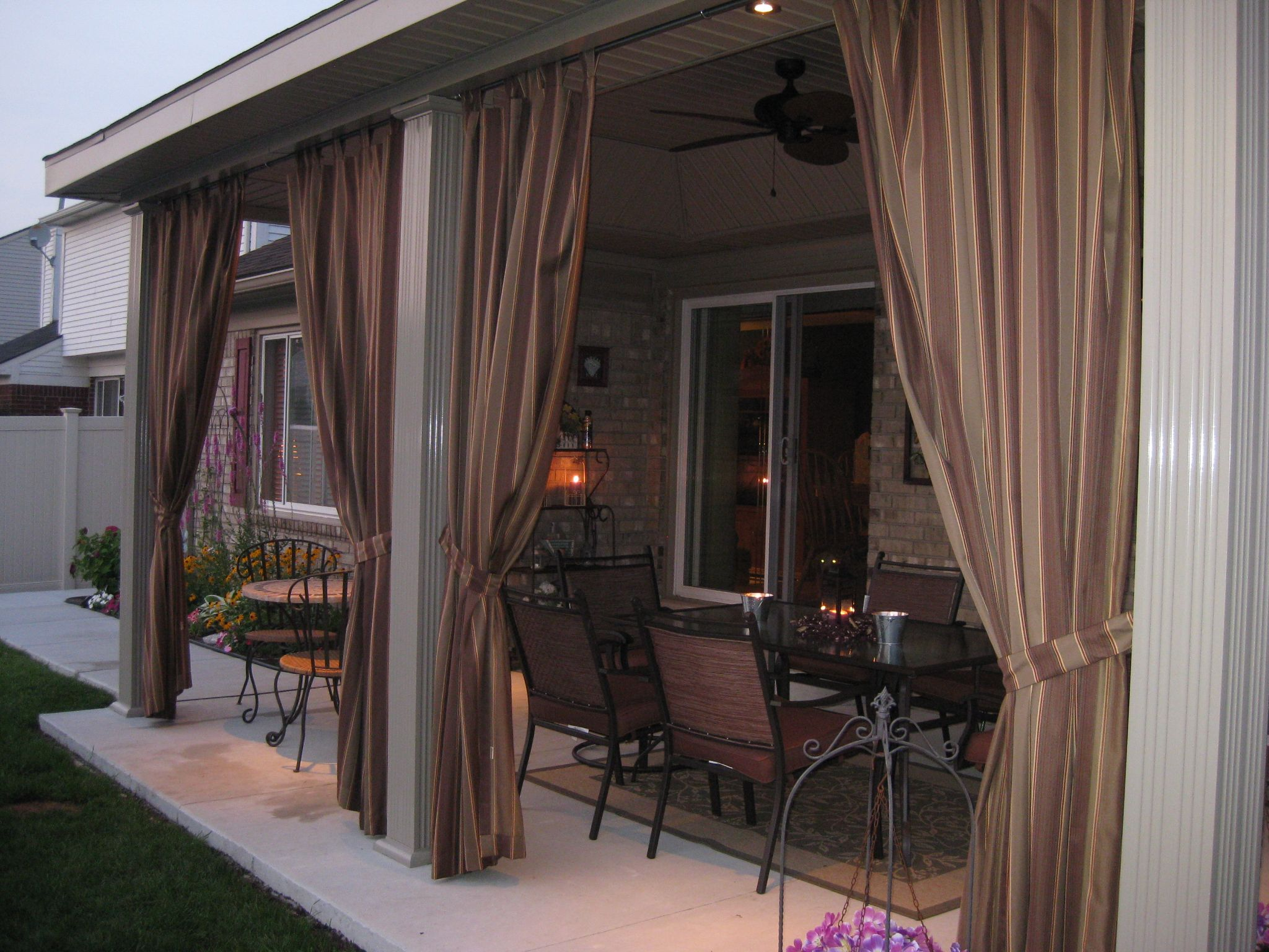 Outdoor drapes home only my me Pinterest