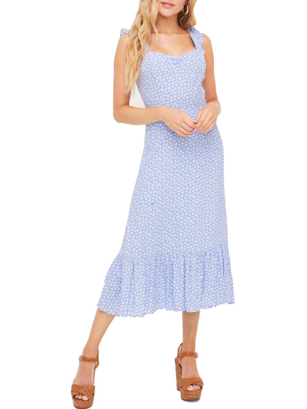 Lush Clothing Lush Clothing Ruffle Strap Midi Dress Walmart Com Lush Clothing Midi Ruffle Dress Stylish Dresses [ 1333 x 1000 Pixel ]