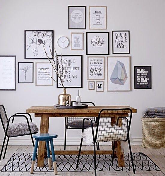Des statement posters en noir et blanc Wall decor, Diy bedroom and