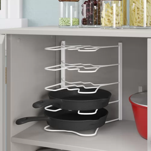 Cangelosi Pull Out Organizer Kitchenware Divider Cabinets Organization Shelving Racks Shelves