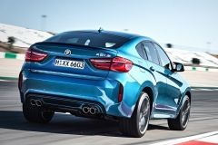 2018 BMW X6 Blue Color Taillights