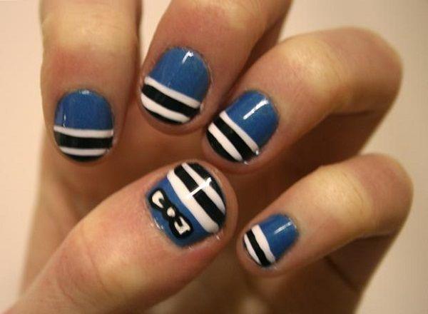 Simple And Easy Nail Designs | Easyday Nails Art, Bows Ties, Cute Nails,