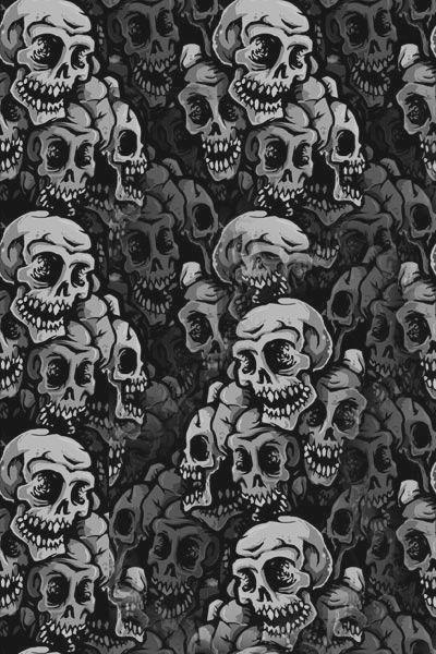 An image on imgfave | Skull in 2019 | Skull, Skull wallpaper
