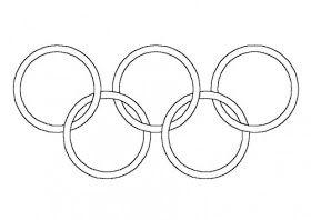 Proyecto Los Juegos Olimpicos Juegos Olimpicos Aros Olimpicos Paginas Para Colorear