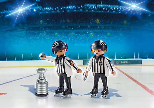 Nhl Referees With Stanley Cup 5070 Nhl Referee Playmobil