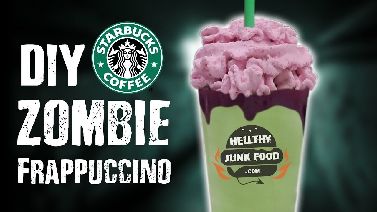 For those who want to be a zombie at home starbucks