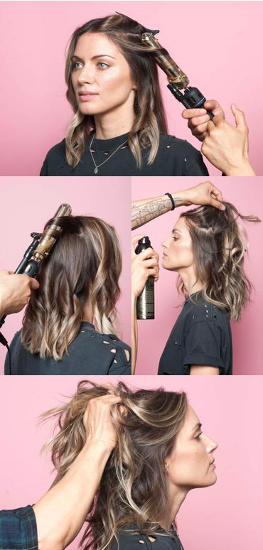 This Is The Secret To A Perfectly Messy Long Bob Hair Hair