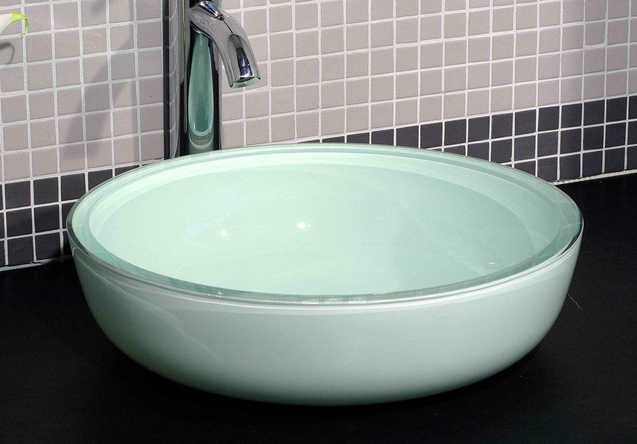 Cantrio Koncepts GS-109 Glass Vessel Sink