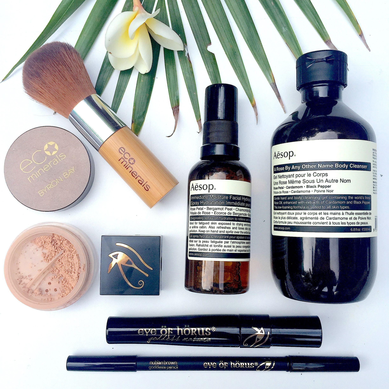 Eye Of Horus Cosmetics, Eco Minerals, Aesop Eye of horus