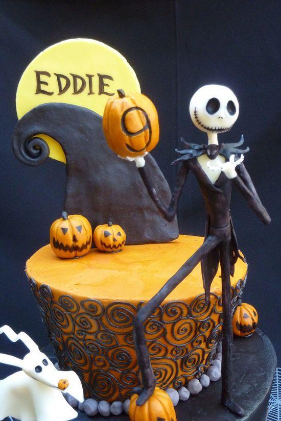 Jack the pumkin king cake