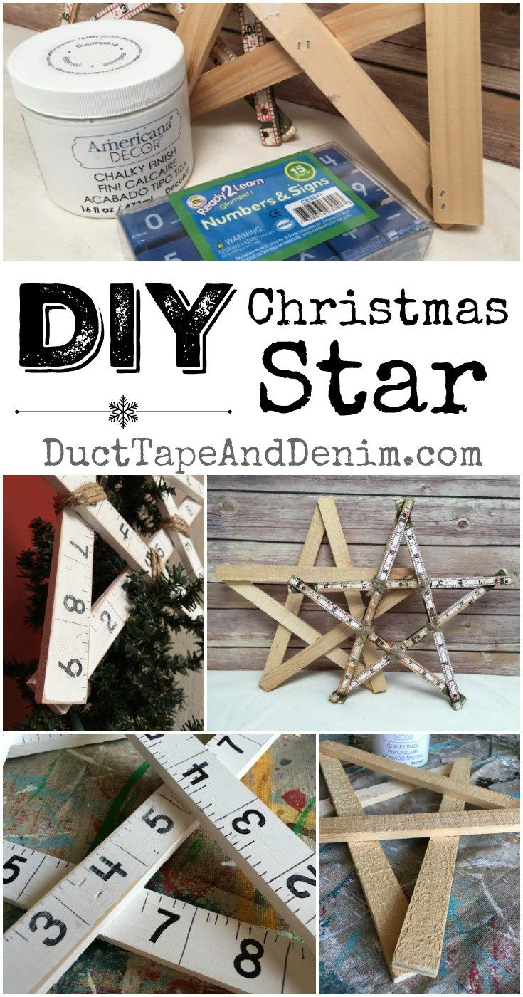How To Make A Vintage Style Wood Christmas Tree Star Diy Christmas Tree Topper Diy Christmas Star Christmas Tree Star Topper