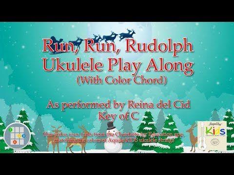 Run, Run, Rudolph Ukulele Play Along (Color Chord) - YouTube ...