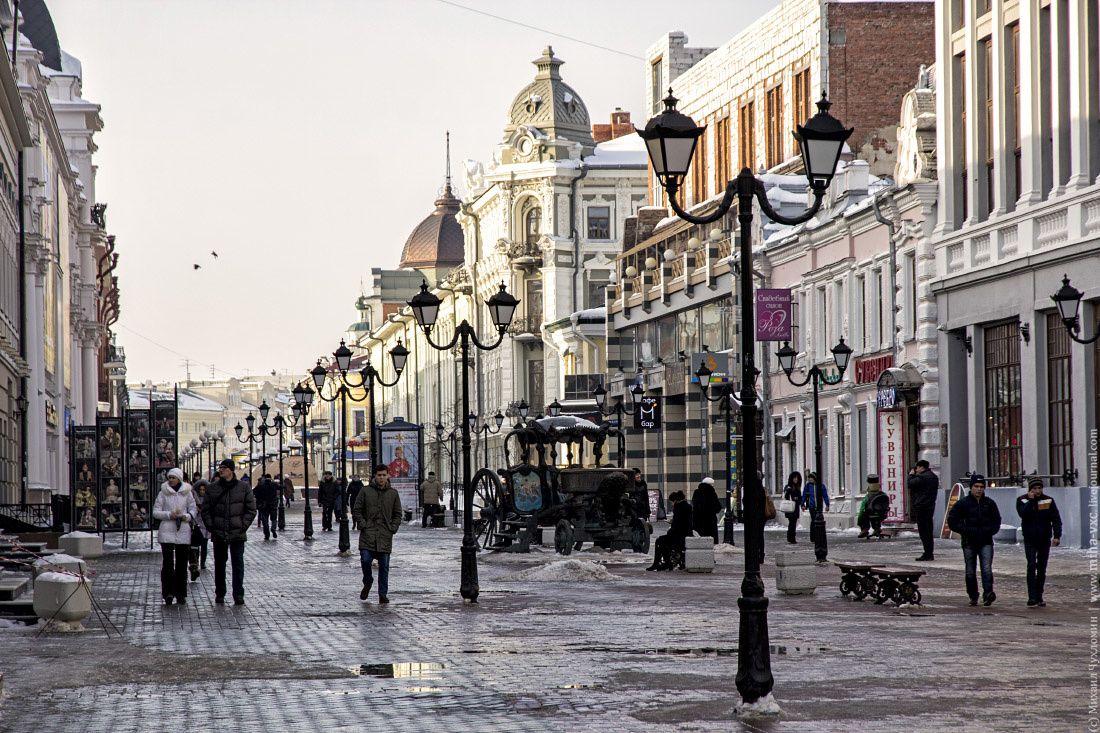улица баумана казань   Улица, Небоскребы, Путешествия