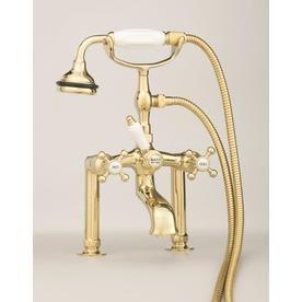 Cheviot Antique Bronze 3 Handle Bathtub And Shower Faucet With