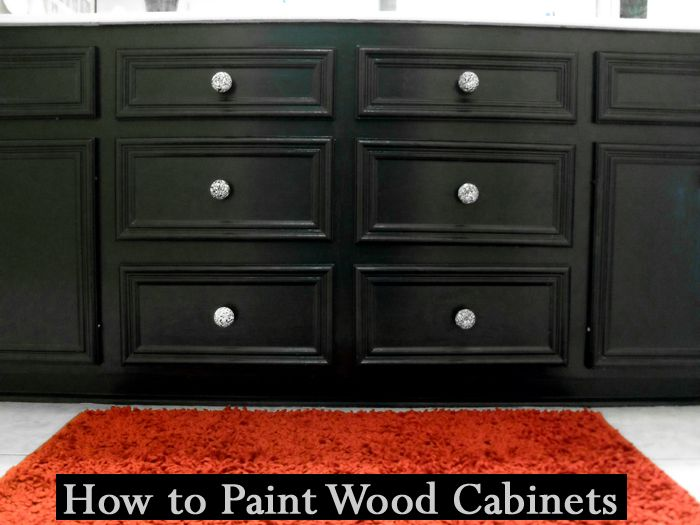 Best 25 Painting Wood Cabinets Ideas On Pinterest