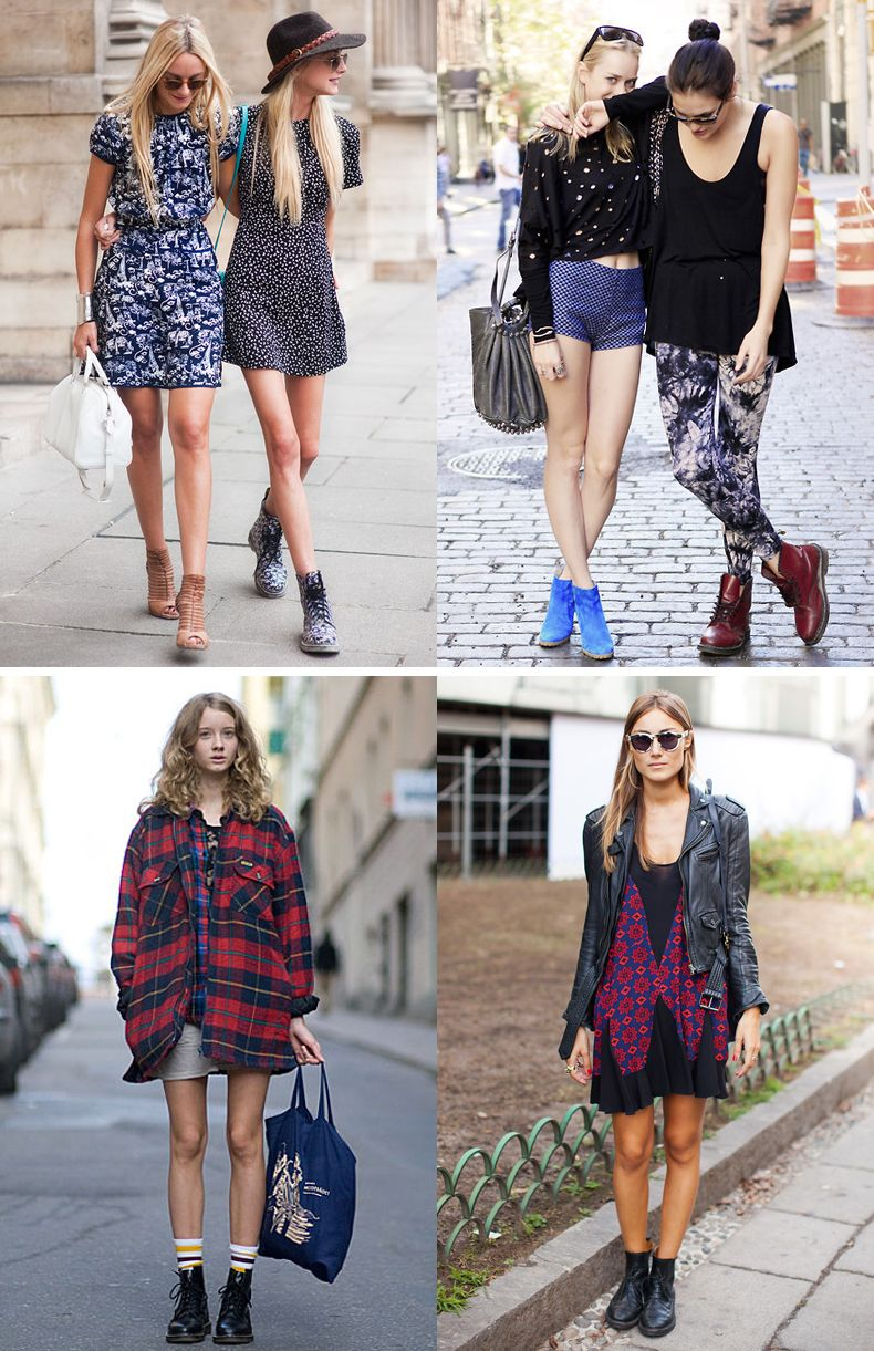 WhatsTrend Blog » Inspiration Dr. Martens   boots style ...