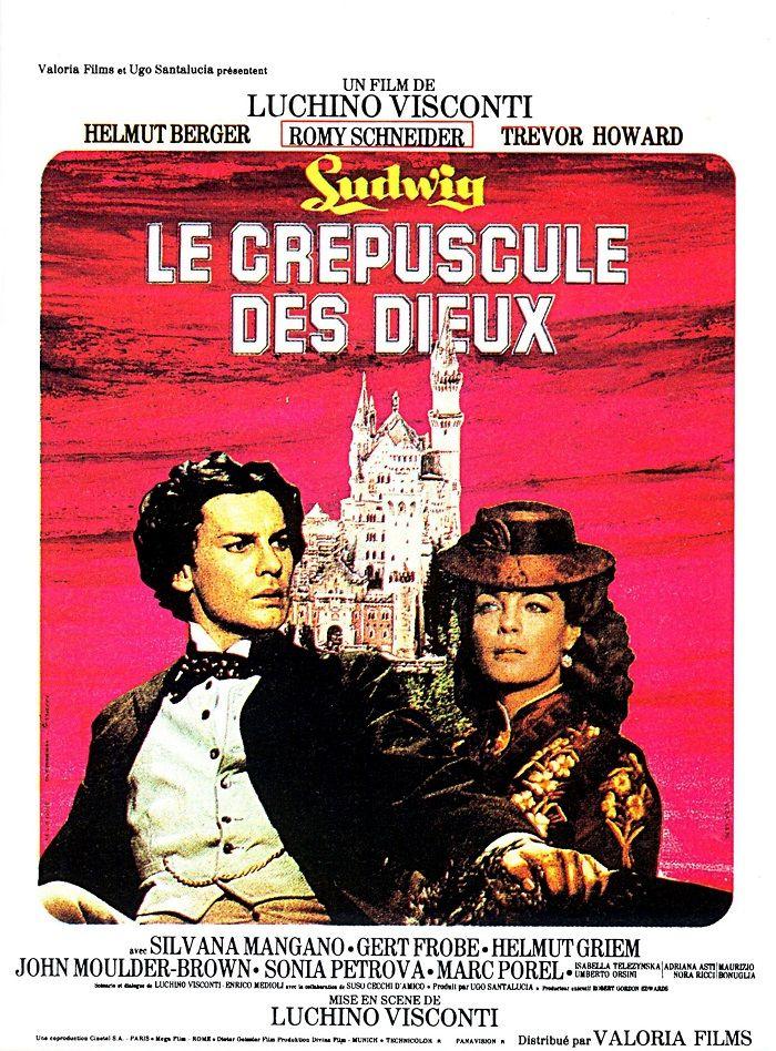 1973 Ludwig Le Crepuscule Des Dieux Romy Schneider Le Guepard Film Film Historique